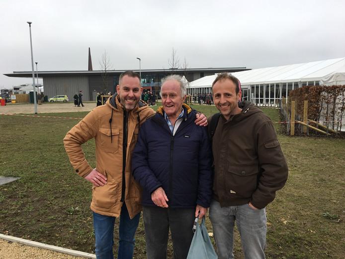 Antoine de Zeeuw, Brian Watts en Arjan Wemmers (vlnr) in het Engelse Lincoln.