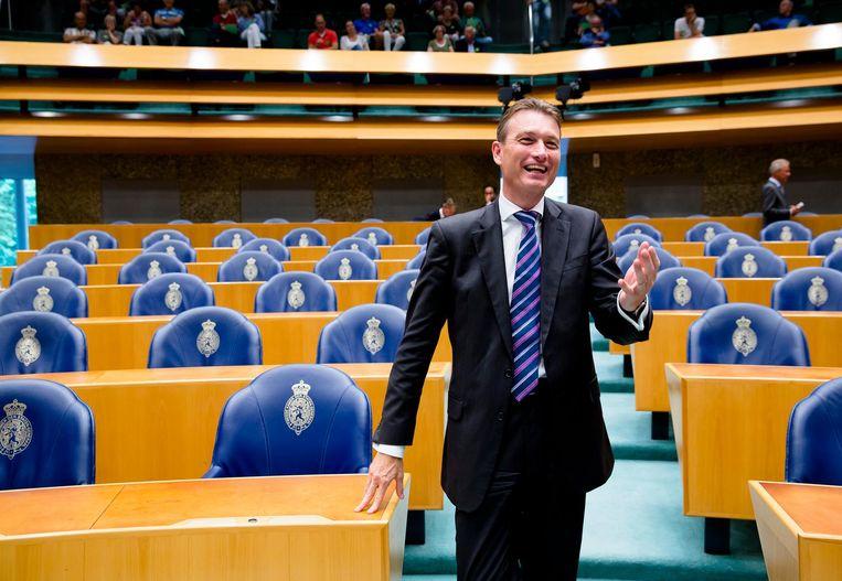 Schippers' toespraak verschilde duidelijk van de boodschap die fractievoorzitter Halbe Zijlstra meestal uitdraagt Beeld anp
