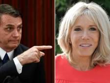 Bolsonaro a retiré son commentaire offensant envers Brigitte Macron