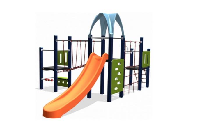 Nieuw speeltoestel voor de wijk Centrum-West in Etten-leur, het combinatie toestel van Boerplay.