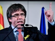 Voorlopig geen arrestatie Catalaanse ex-premier Puigdemont