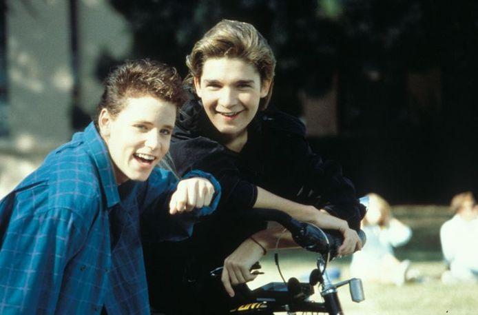 Kindsterretjes Corey Haim en Corey Feldman in de jaren '80