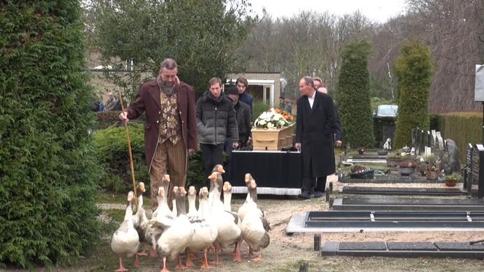Bijzonder begrafenis in Elspeet