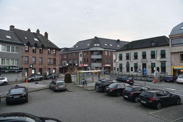 Het Gemeenteplein in Wolvertem.