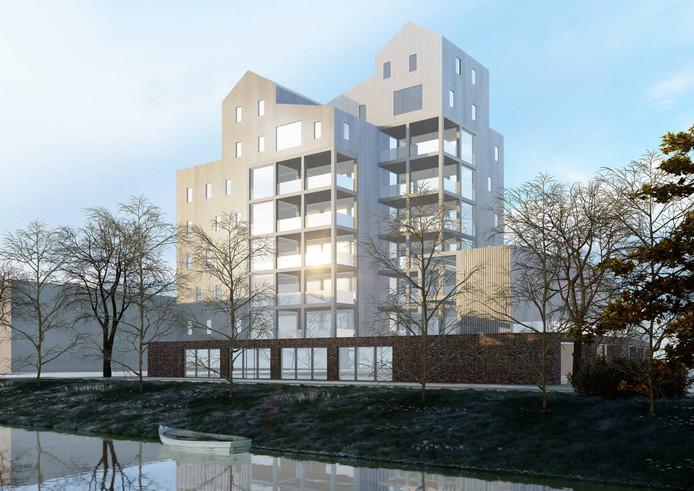 Wolstad krijgt drie bijzondere appartementen in top.