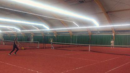 Opening van nieuwe tennishal