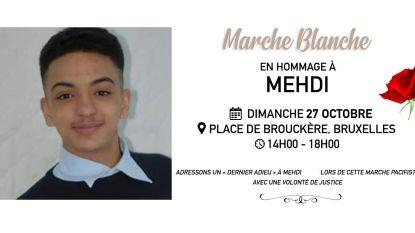 Broer doodgereden Mehdi Bouda organiseert witte mars in Brussel