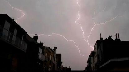 """Code geel. KMI waarschuwt voor onweer morgen: """"Wordt mogelijk nog opgeschaald naar code oranje"""""""