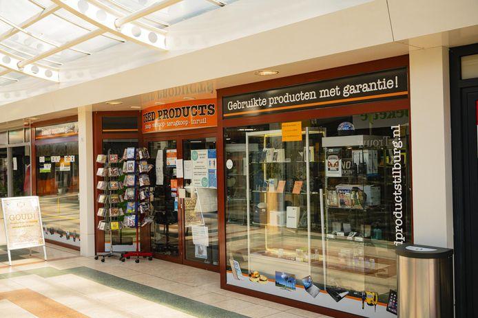 Tweedehandswinkel Used Products aan de Westermarkt in Tilburg is overvallen.