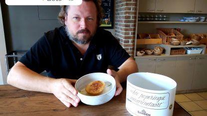 """Mazarinetaart van Chocolaterie Stijn en bvba Verheyde: """"Zoete smaak, waarbij vooral kaneel naar boven komt"""""""