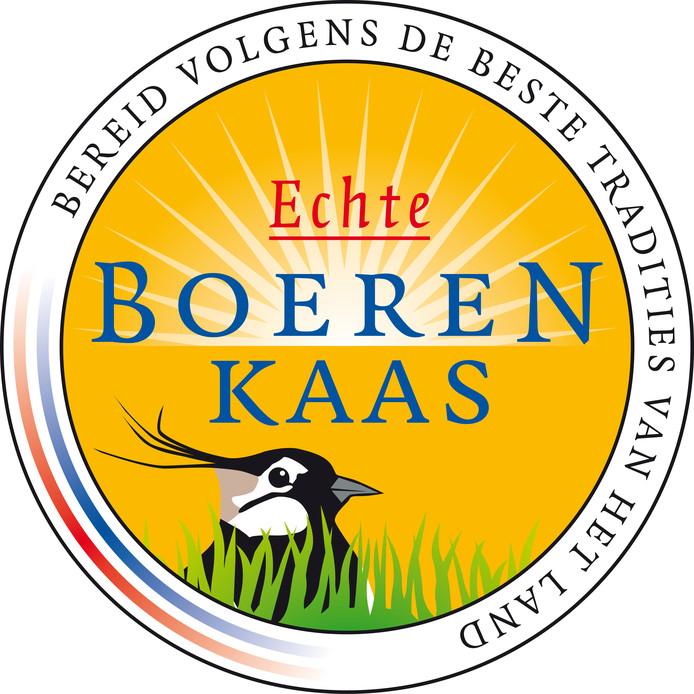 Aan dit logo kunnen klanten zien dat ze echte boerenkaas kopen.