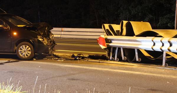 Noodvangrail op A1 bij Holten gaat weg, maar niet vanwege de ongelukken.