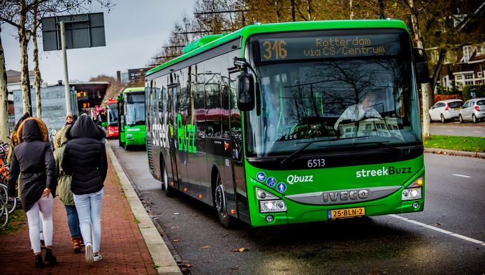 Qbuzz nam afgelopen weekend het vervoer in de regio over van Arriva.