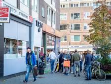 Protest vanwege sluiting coffeeshop Trefpunt
