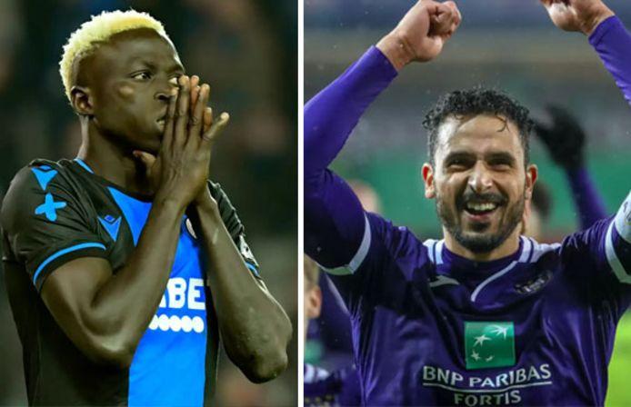 Krépin Diatta devrait quitter Bruges cet été. Le Sénégalais pourrait être remplacé par Nacer Chadli