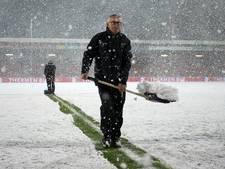 GA Eagles vraagt supporters om hulp met veld sneeuwvrij maken