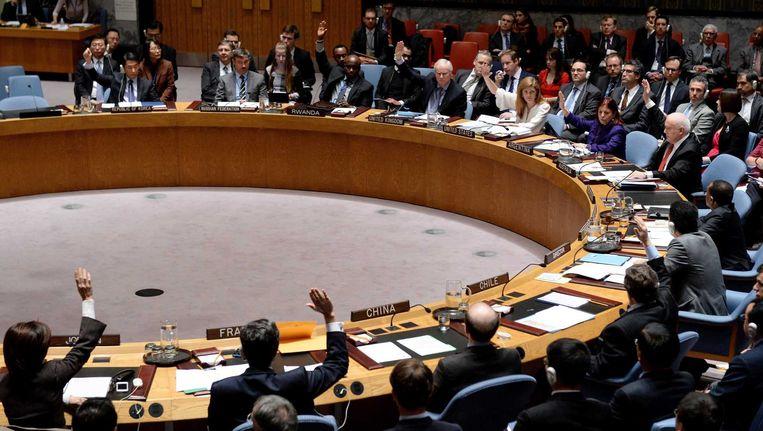 Archiefbeeld: VN-veiligheidsraad.