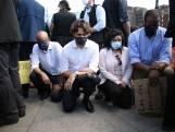 Canadese premier Trudeau knielt tijdens een Black Lives Matter-protest