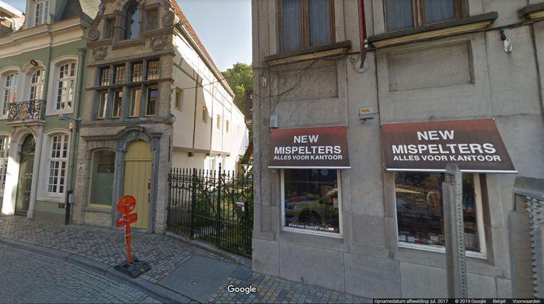 De vliet komt links van het huidige New Mispelters.