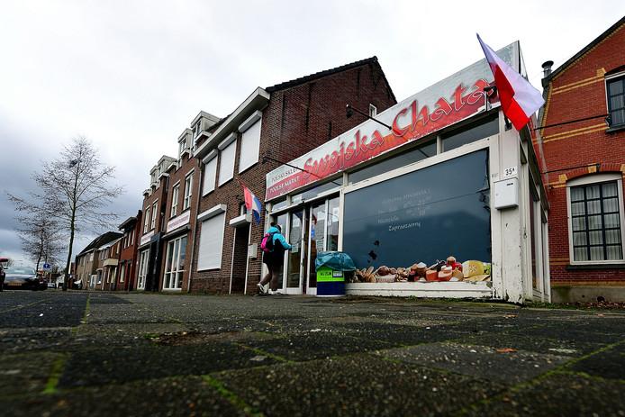 De Poolse supermarkt aan de Gastelseweg