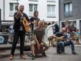 Bløf geeft miniconcert in centrum Antwerpen