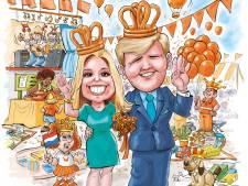 Koningsnacht en -dag in Helmond-Peel: Slenteren over de slingermarkt, luisteren naar Trijntje