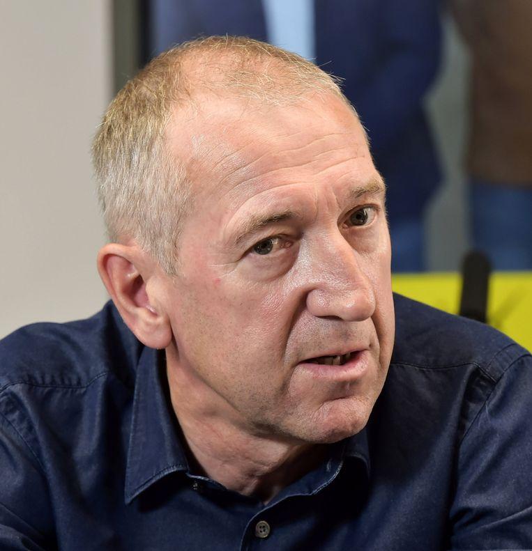 Franky Van der Elst: 'Wie ook de vervanger wordt van Kompany, we boeten sowieso aan kwaliteit in.' Beeld