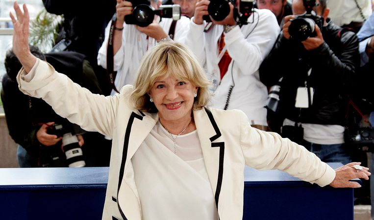 Moreau in Cannes in 2005. Beeld reuters