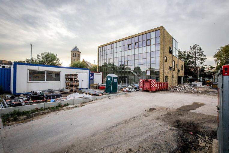 De nieuwe hotelschool van de scholengroep is in opbouw.