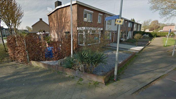 De hoek van de Fazantlaan en de Burgemeester Geradtslaan in Beuningen.