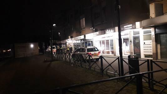 Inval van de politie in de kapperszaak in Doetinchem, februari 2019.