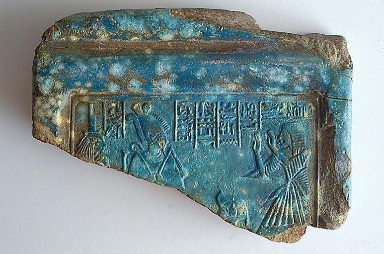 Het gestolen reliëf. Beeld Kelsey Museum