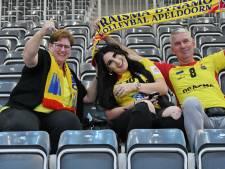 De grootste supporters van Maikel van Zeist zijn er bij in Polen, al is het op de achtergrond. 'We willen hem niet uit zijn concentratie halen'