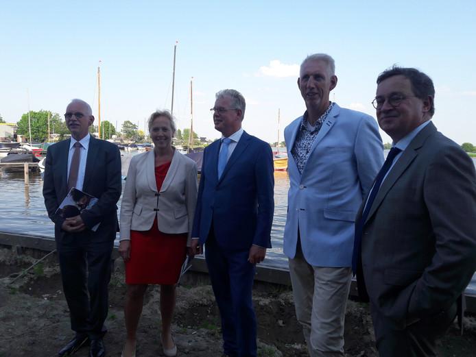 De nieuwe wethoudersploeg van de gemeente Bodegraven-Reeuwijk