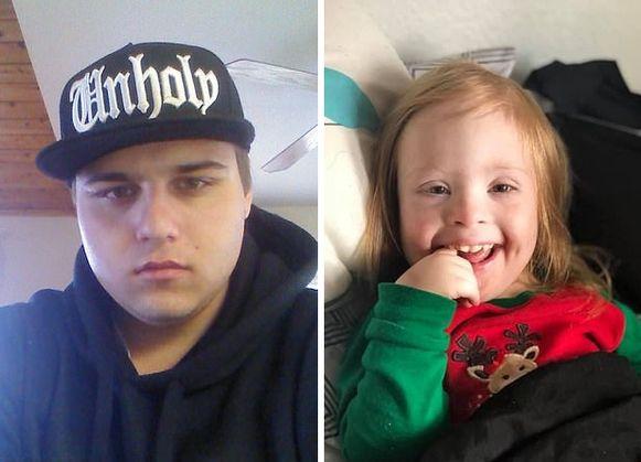 Adam Hughes (24) is aangeklaagd wegens moord op Kylee (4)