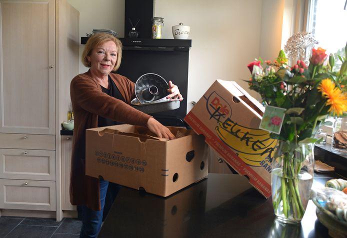 Xandra Janssen woont nog geen week in Zierikzee, maar het bevalt haar prima.