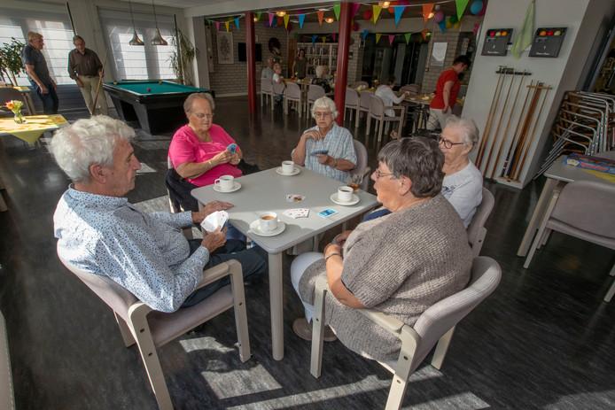 De recreatiezaal van Kempkeshof in Wintelre is bestemd voor alle inwoners van Wintelre.lre