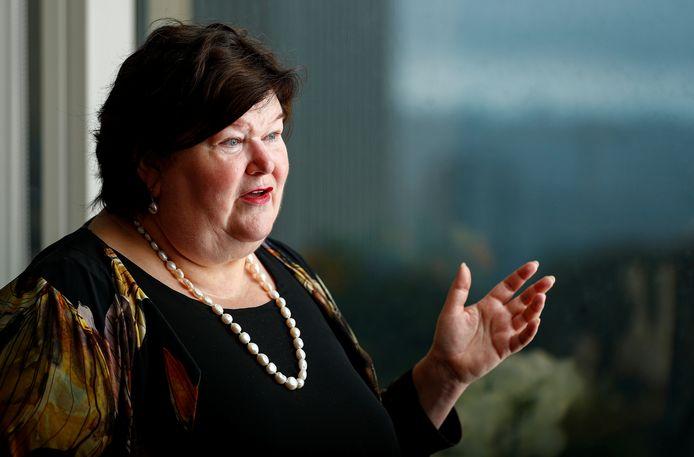 La ministre de l'Asile et de la migration, Maggie De Block.