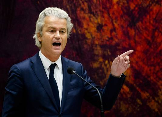 PVV-leider Geert Wilders.