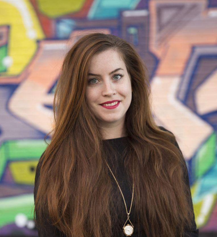 Nadine van den Bosch, programmamanager en curator kreeg als kind al stapels kunstboeken voorgeschoteld. Beeld Saffron Pape