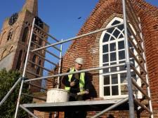Romboutstoren in Andel gaat in de steigers voor restauratie