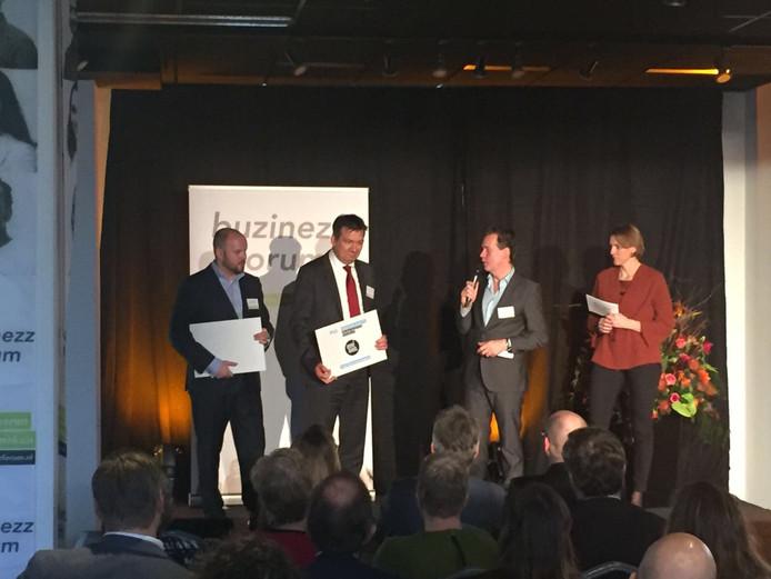 Inntel Hotels Resort Zutphen ontving woensdag de award.