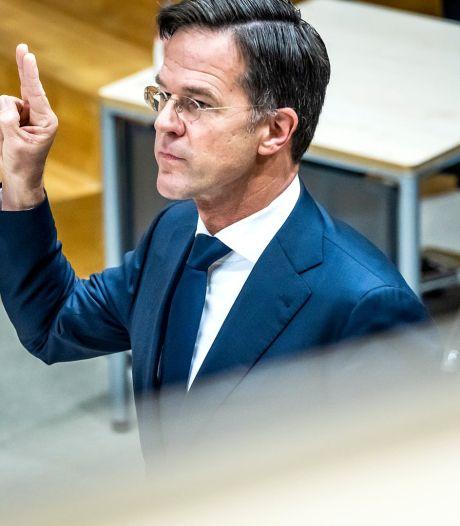Rutte steekt hand in eigen boezem rond toeslagenaffaire: 'Grenzen overgaan mag niet'