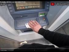 Le client précédent oublie 50 euros au distributeur de billets: lui rendez-vous?