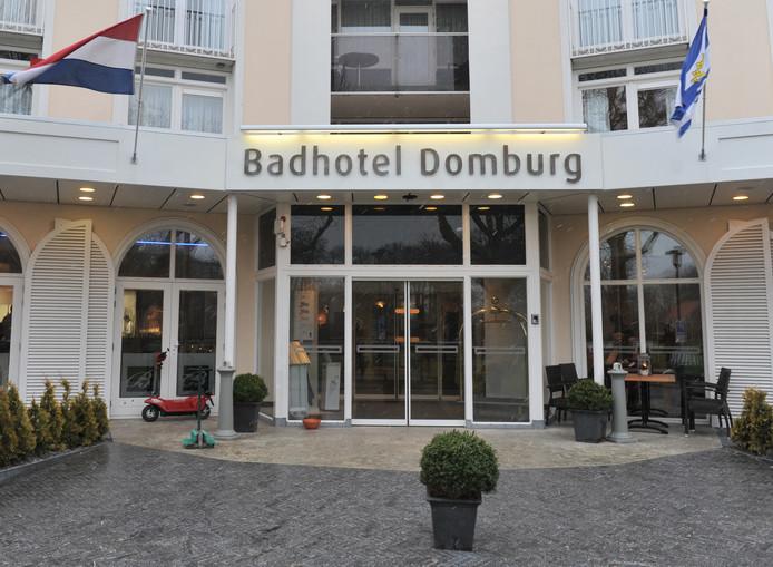 Het Badhotel Domburg.