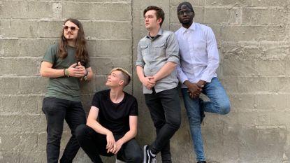 """Beloftevolle Grimbergse band 'Sell me your coat' droomt van optreden met Weezer. """"Maar toch eerst dat tweede album afwerken"""""""
