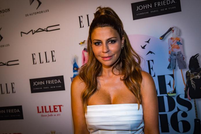 Olcay Gulsen tijdens de ELLE Style Awards in 2016