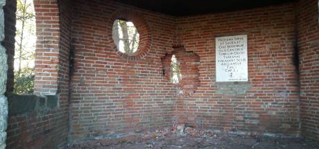 Woede na 'asociale' vernieling theekoepel op de Tankenberg: 'Wie dit doet is niet goed snik'