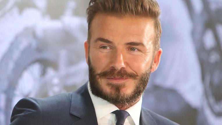 David Beckham. Beeld getty
