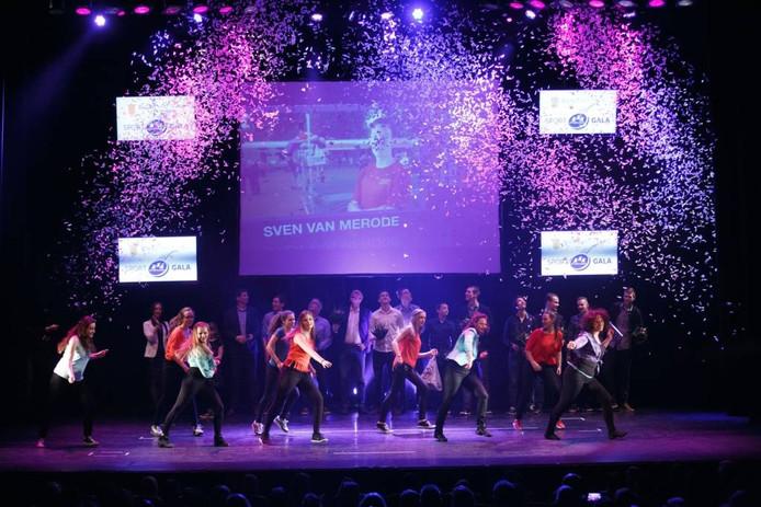 Het Sportgala is een van de lokale evenementen die Van Brummen graag terugziet op het podium van het nieuwe theater. foto archief BN DeStem